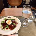 98380357 - 本日のおつまみ&日替わり純米酒