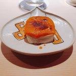98381790 - 白子豆腐 車海老の味噌ソース