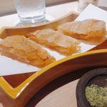 98381799 - フカヒレの唐揚げ 山椒のお塩
