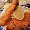 とんかつ 横山 - 料理写真:とんかつ定食1,080円+えびフライ1本260円