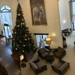 小田急 山のホテル - この時期は大きなクリスマスツリーが飾られています