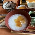 小田急 山のホテル - お粥を選択