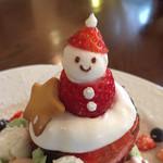 98384545 - クリスマスパンケーキ1500円