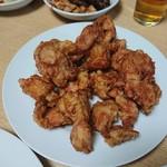 晴々飯店 - 鶏の唐揚げ