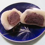 湖国近江和菓子処 団喜 - 「黒豆塩大福つぶあん」