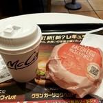 マクドナルド - ベーコンエッグマックコンビ:250円