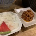 いかれたヌードル フィッシュトンズ - 肉味噌&オニオン٩( 'ω、' )و