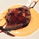 ヴィンチェロ - フォアグラのソテー  薩摩芋のクレマ