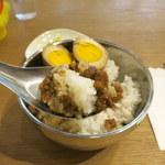 台感 - 魯肉飯(648円)おふくろの味~。