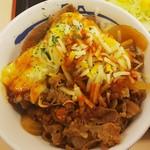 松屋 - 料理写真:プレミアム旨辛チーズポテト牛めし