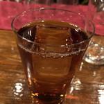 横浜スタイル カクテル&ワインBAR グラン・カーヴ - ゆるゆるポタリングの忘年会☆彡 会費7000円てことで楽しみ♪ 今回は立食でドリンクはメニューから注文する。 飲み放題の内容はワインの他にカクテルからウイスキーなどのスピリッツ類、本格焼酎まで色々☆彡
