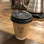 フラップコーヒー - ホットチョコレート