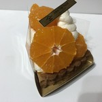 アロー ツリー - 料理写真:温州みかんのチーズタルト