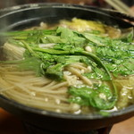 竹の子 - 鴨鍋(1人鍋)