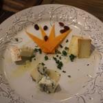 98397397 - おまかせ四種のチーズの盛り合せ