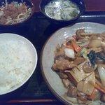 984906 - 鶏肉五目炒め定食