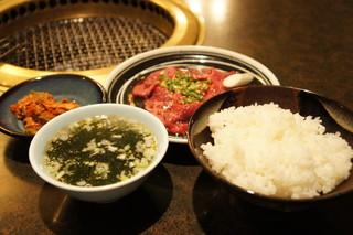 焼肉ブドーヤ - 焼肉ランチ 1260円