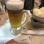 串カツ田中 - 生ビール プレモル香るエール