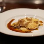 五明 gomei - 季節根野菜とカチョカバロチーズのクロッカンテ 冬トリュフ