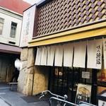 味の浜藤 - この90度向こう側で串刺しやビールの販売をしている。