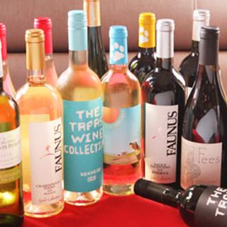 ボトルワインは2,000円~!寒い季節に嬉しいホットも