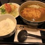 太悟活 - 料理写真:カツカレーうどん950円(税込)