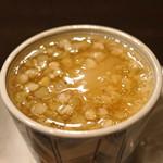土家 - 金目鯛と蕪の茶碗蒸し