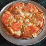 バルバ - コンビネーションピザ(トマト、ベーコン)Mサイズ 1250円