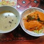 ガネーシュ&バー - スープとサラダ