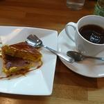 ハートランド - セットのドルチェ♪かぼちゃのプリン♪と紅茶♪