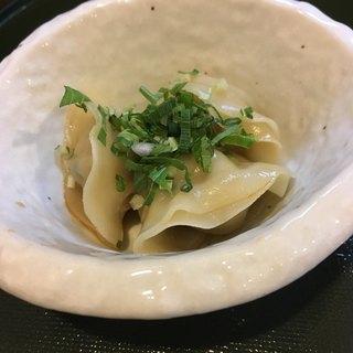 ORIBE - 料理写真:絶品の水餃子です。(^^) 超オススメ!