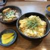 福とん - 料理写真:かつ丼 豚汁