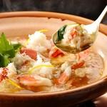 とうふ屋うかい - 料理写真:とろめん豆腐と蟹みぞれ鍋