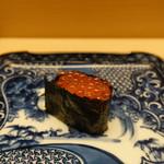 銀座 鮨青木 - いくら