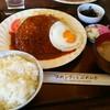 プれンテイ - 料理写真:特製ジャンボハンバーグセット¥1580