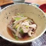 心根 - 食事 伊賀産猪すき煮