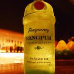 BAR SQUARE - 11月のおすすめ。タンカレー・ラングプール。スッキリした飲み口のジンです。