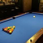 Club HOJU Bar - 都内では珍しい7ft台です。