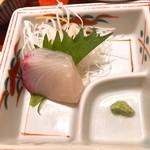 小魚 阿も珍 - 鯛のお刺身