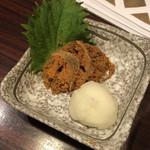 近江町食堂 - ちょっと食べかけ