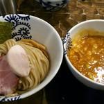 特級鶏蕎麦 龍介 - 海老つけ麺(並)(870円)