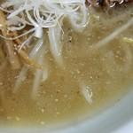眞麺 穂高 - スープ