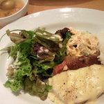 kuunel kitchen - Aランチ(豚ロースのグリル・サツマイモのソース)★800円♪(写真はあんまりですが、ボリュームたっぷり!)