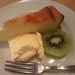kuunel kitchen - ランチに+100円で、このデザート♪