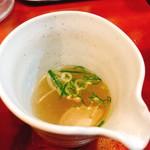 麺食堂 88 - 割りスープ