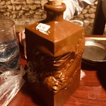 竹富島 - 泡盛の五合瓶