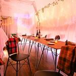 STEAK HOUSE & BBQ BALCONIWA - 4階レストランフロアはLO23;30。ゆっくり落ちついた空間でお食事して頂けます。