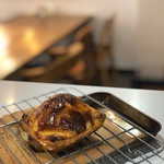 カフェ カフェッタ 梅ヶ丘 - 焼肉屋さんのミートパイ