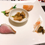 城北飯店 - ランチコースの前菜