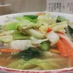 博華 - タンメン¥650